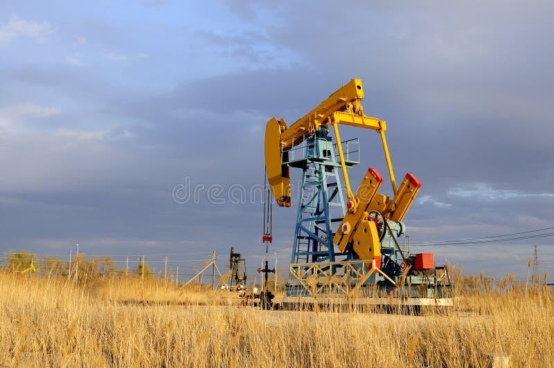 Pompe de pétrole photos libres de droits