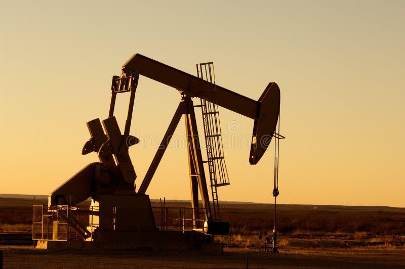pompe de pétrole photographie stock libre de droits