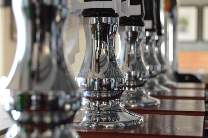Pompe della birra fotografia stock libera da diritti
