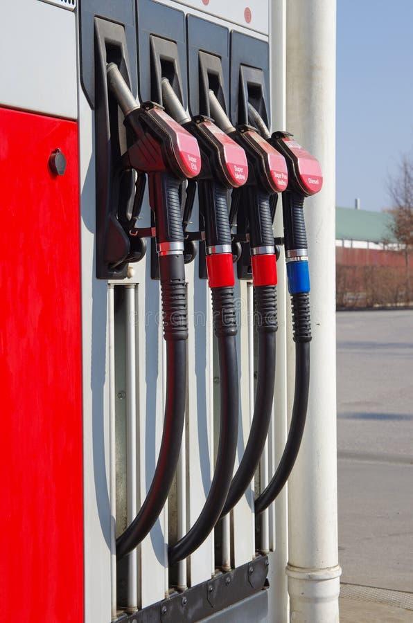 Pompe di gas immagine stock libera da diritti