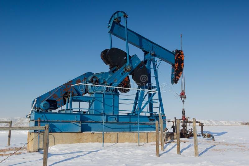 Pompe Jack, Alberta Canada image libre de droits