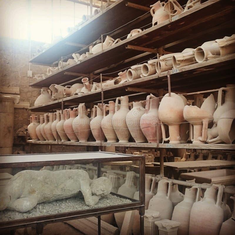 Pompei стоковая фотография rf