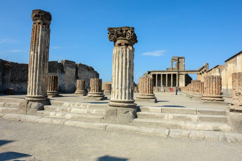 Pompei zdjęcia royalty free