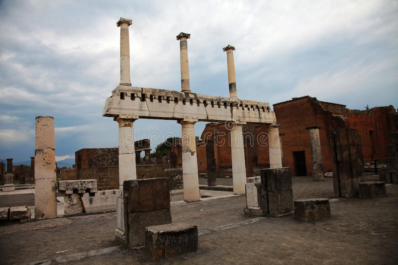 Download Pompei stock photo. Image of ruins, disaster, finds, column - 23619816