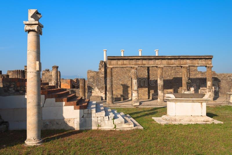 Pompei fotografie stock