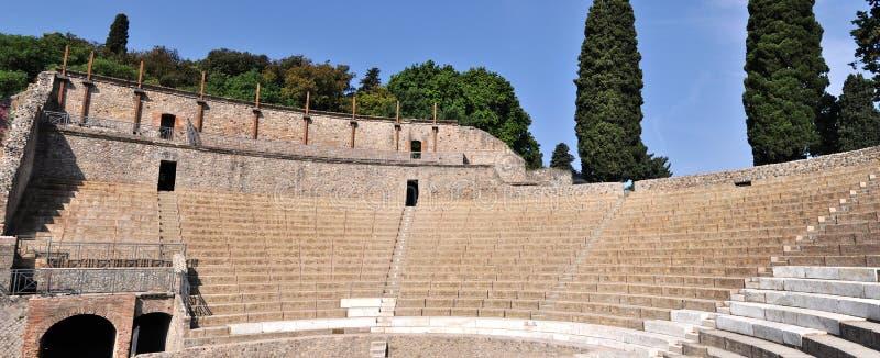 Pompei fördärvar royaltyfri bild