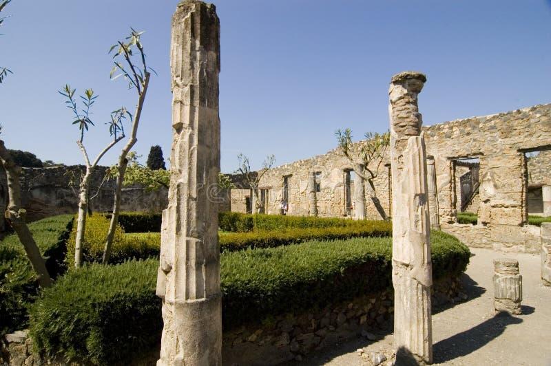 Pompei_Roman_Antiquites royalty-vrije stock foto's