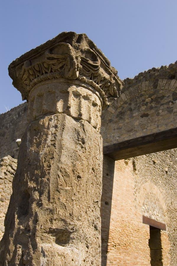 Free Pompei_Roman_Antiquites Royalty Free Stock Photos - 661508