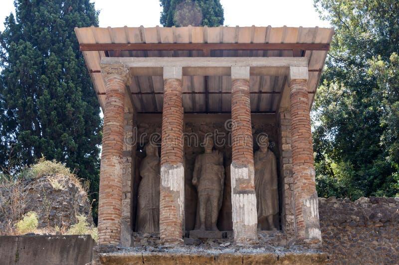 pompeii fotografía de archivo libre de regalías