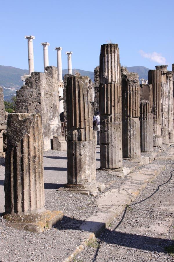 Pompeii fotografía de archivo