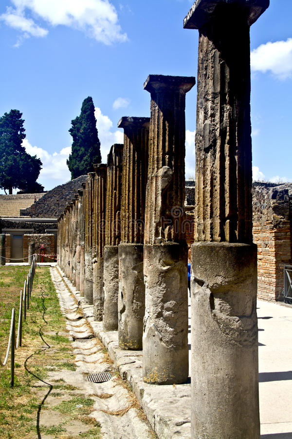 pompeii obrazy stock