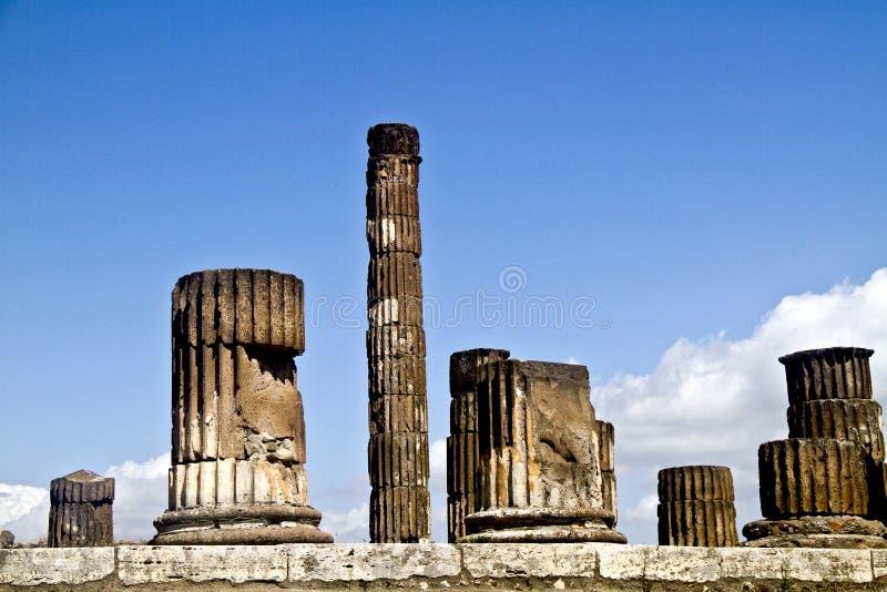 Pompeii stock photo