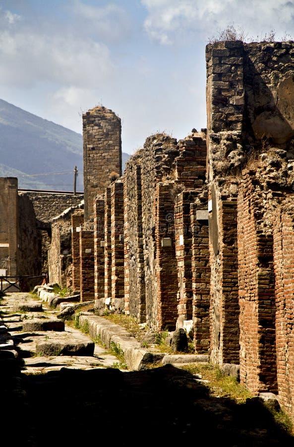 Pompeii royalty free stock photo