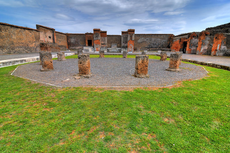 Pompeii royalty free stock photography