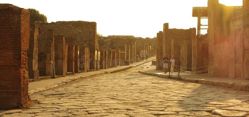 Pompeii royalty free stock images