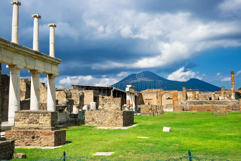 Pompeii stock photography