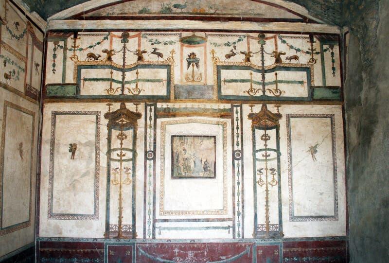 Pompeii antiguo fotos de archivo libres de regalías