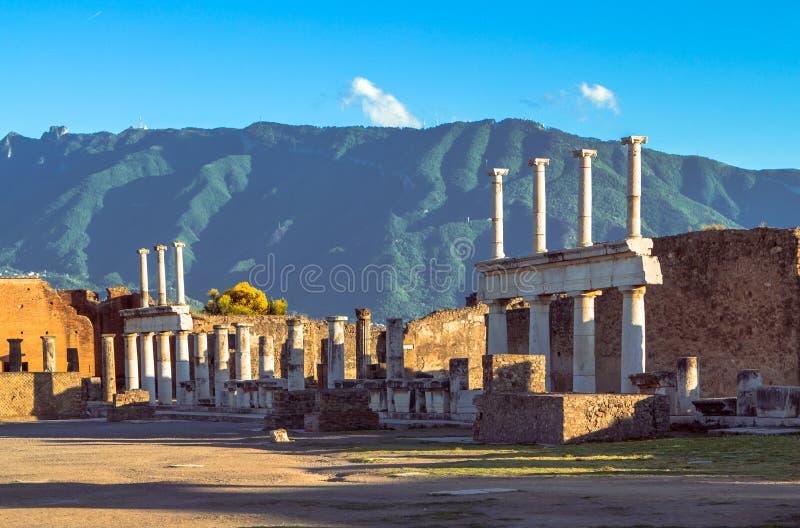 Pompeii, Itália fotos de stock