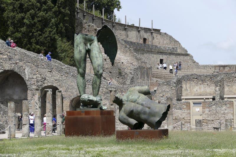 Pompeii, Italy royalty free stock images