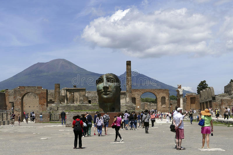 Pompeii, Italy royalty free stock image