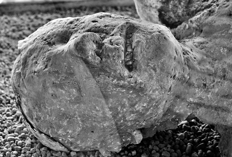 Pompeii offer arkivfoton