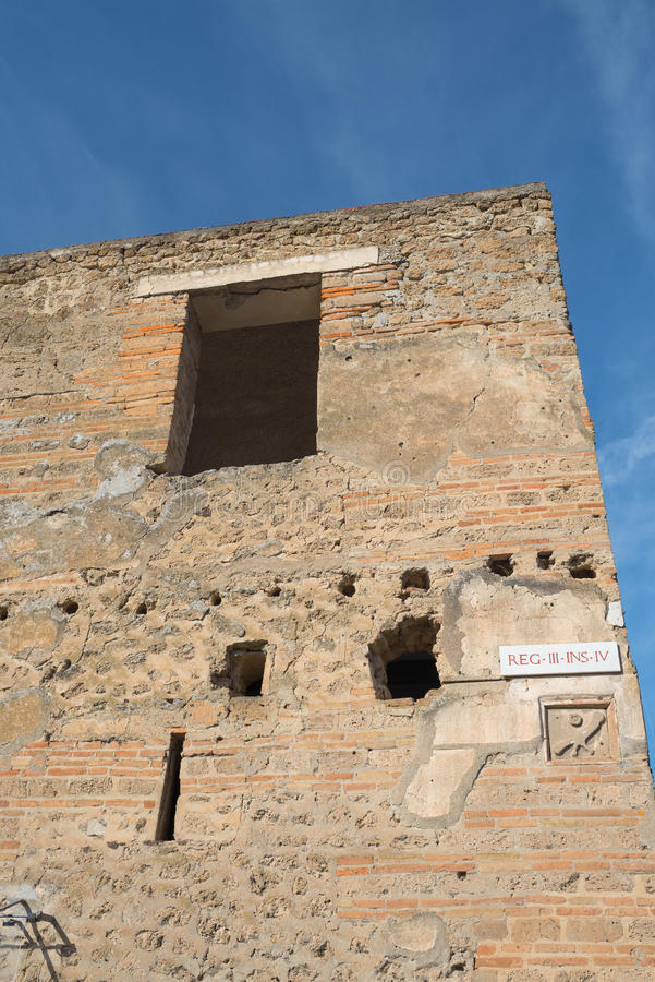 Download Pompeii Ruins  - Italy Editorial Photography - Image: 83710237