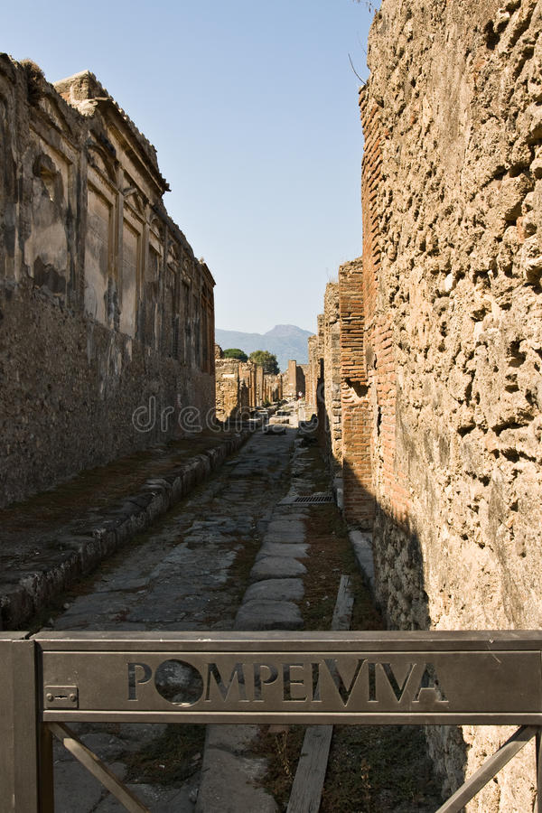 Download Pompeii Tourism stock image. Image of pompey, heritage - 25551801