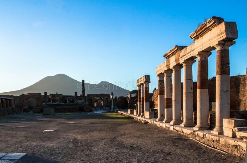 Pompeii, Włochy zdjęcie royalty free
