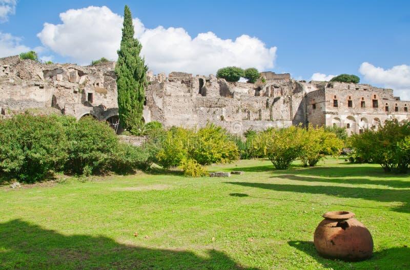 Pompeji, Italien lizenzfreie stockbilder