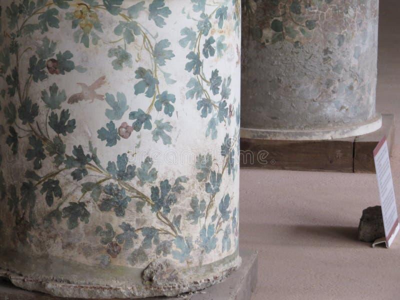 Pompey eller Pompeii italy naples royaltyfria foton