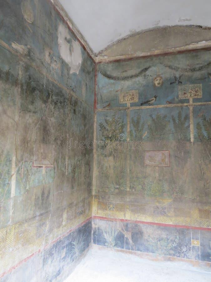 Pompey eller Pompeii italy naples royaltyfri bild