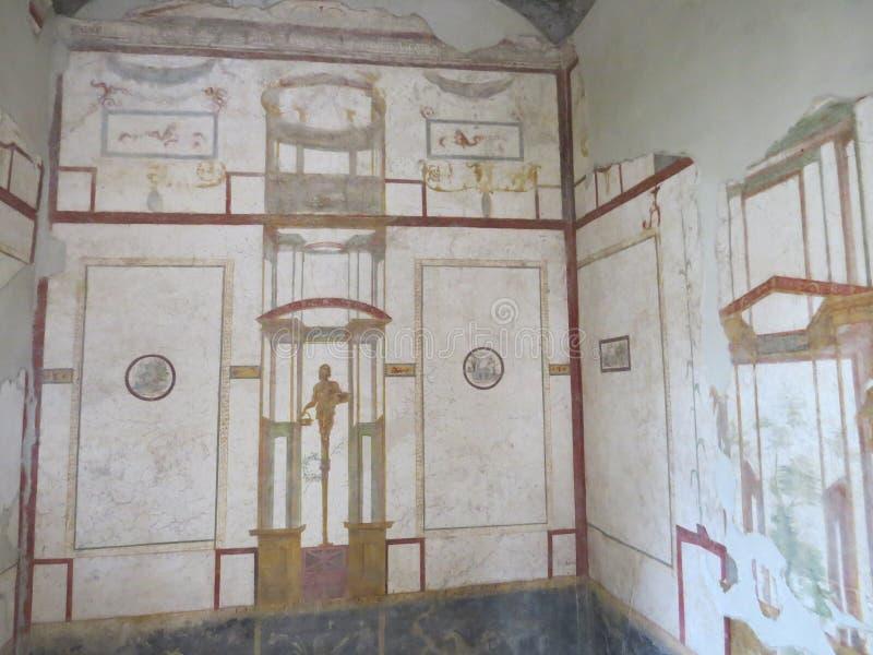 Pompey ou Pompeii Naples, Italie images libres de droits
