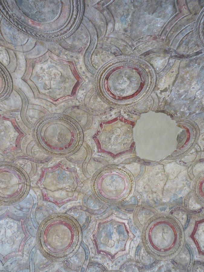 Pompey of Pompei Napels, Italië stock foto