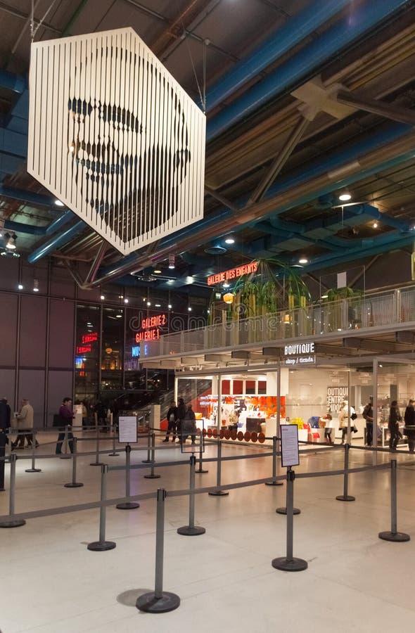 Pompidou Centre fotografia stock