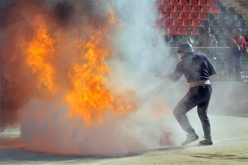 Pompier photos stock