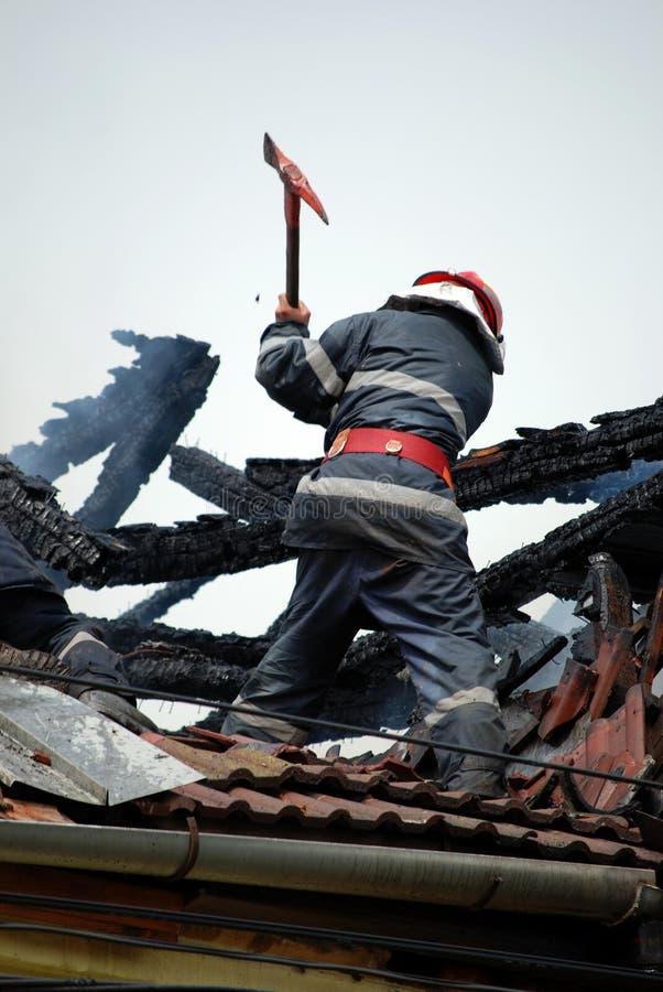 Pompier photographie stock libre de droits