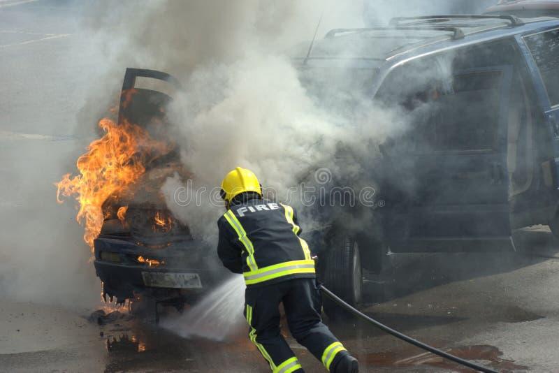 Pompier ! image stock