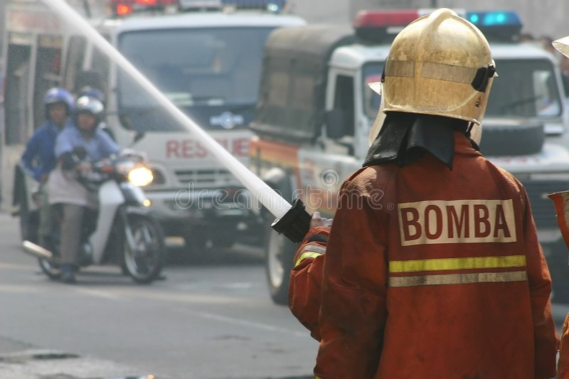 Pompiers images stock