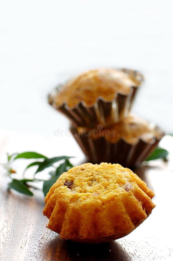 Pompoen-kaas Muffins royalty-vrije stock fotografie