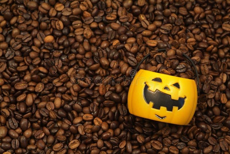Pompoen Latte royalty-vrije stock fotografie