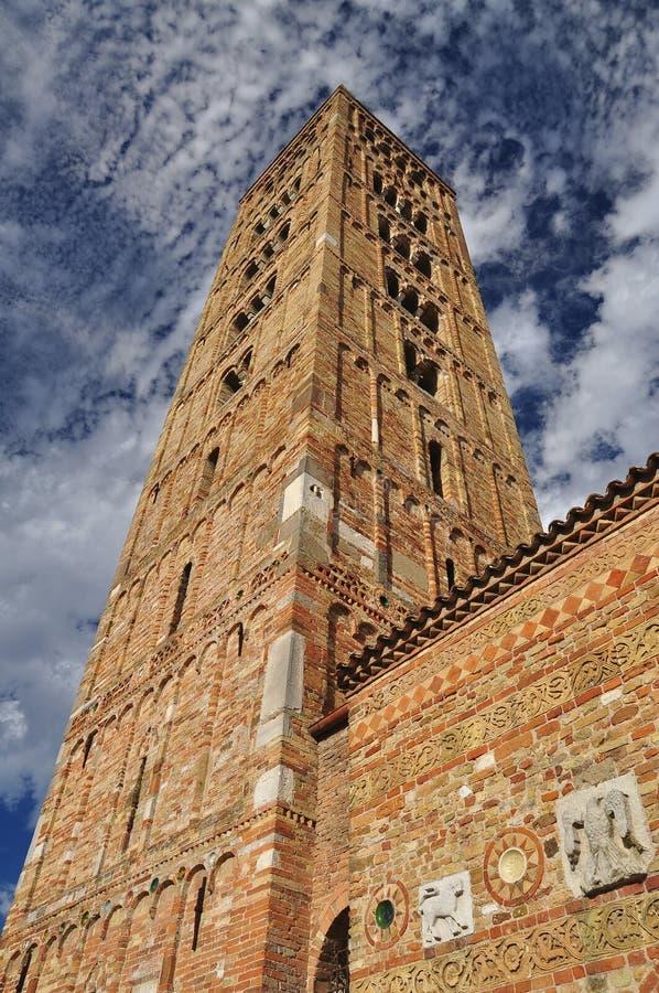 Pomposa abbey - Benedictine monastery, Italy stock photos