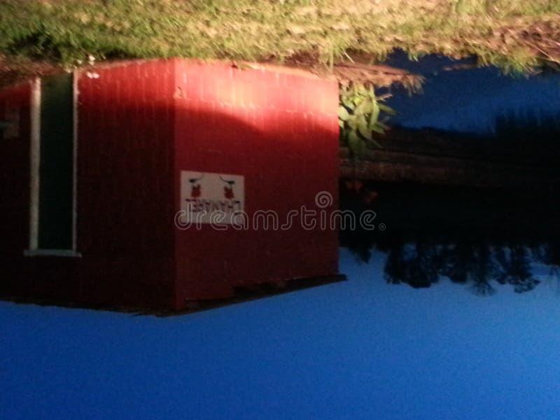 Pompowy dom fotografia stock