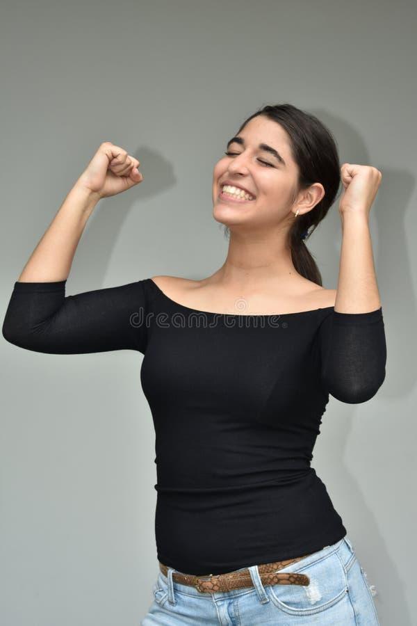 Pomyślna Latina kobieta obraz royalty free