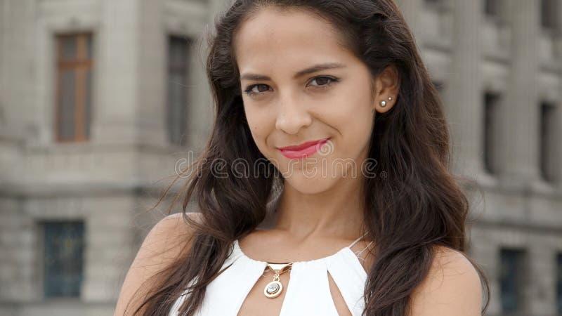 Pomyślna młoda osoba zdjęcie royalty free