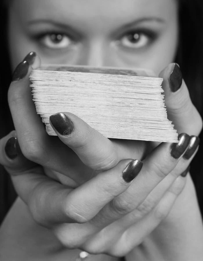 pomyślność mówi kobiety fotografia stock