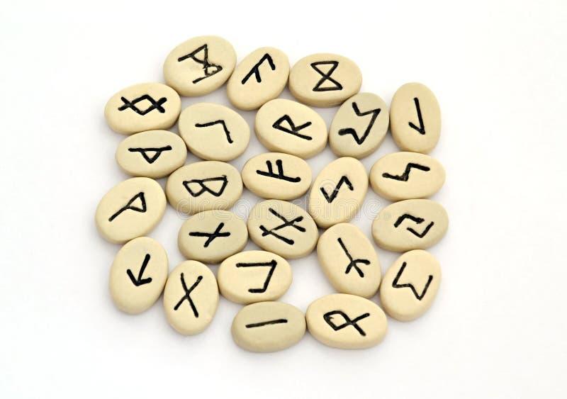 Pomyślności mówić północni runes obrazy royalty free