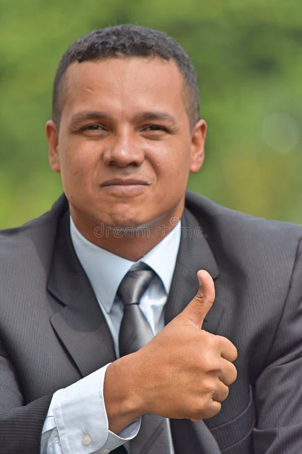 Pomyślny Latynoski dyrektor wykonawczy obrazy royalty free