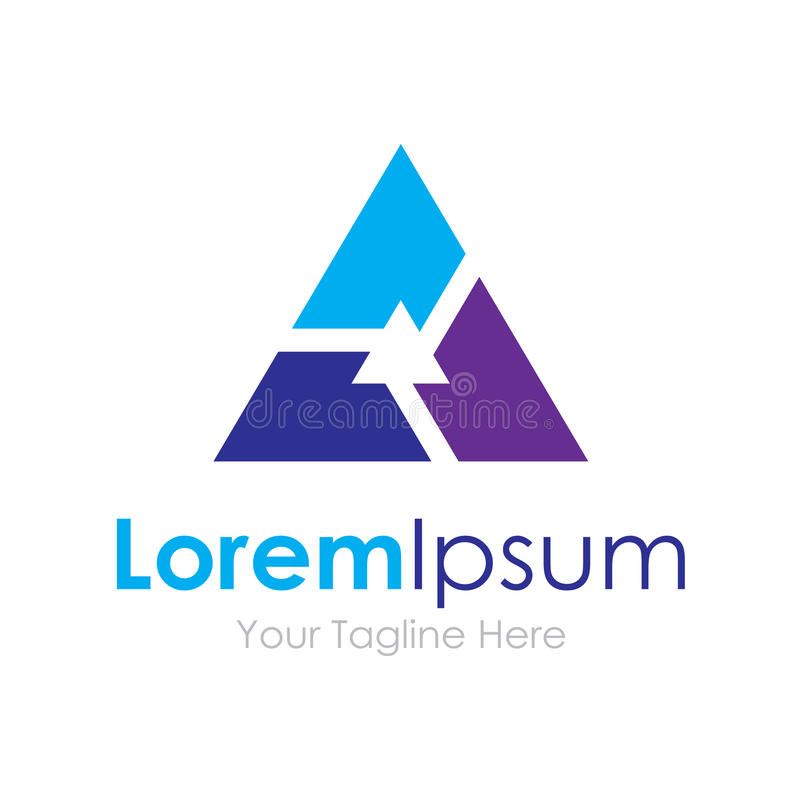 Pomyślny partnerstwo grupy pracy zespołowej technologii trójboka pojęcia elementów ikony logo ilustracja wektor