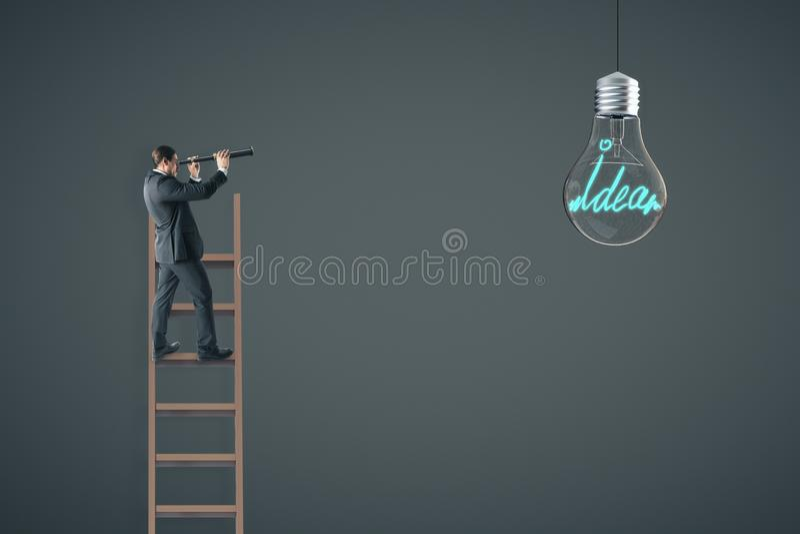 Pomysł i innowaci pojęcie royalty ilustracja