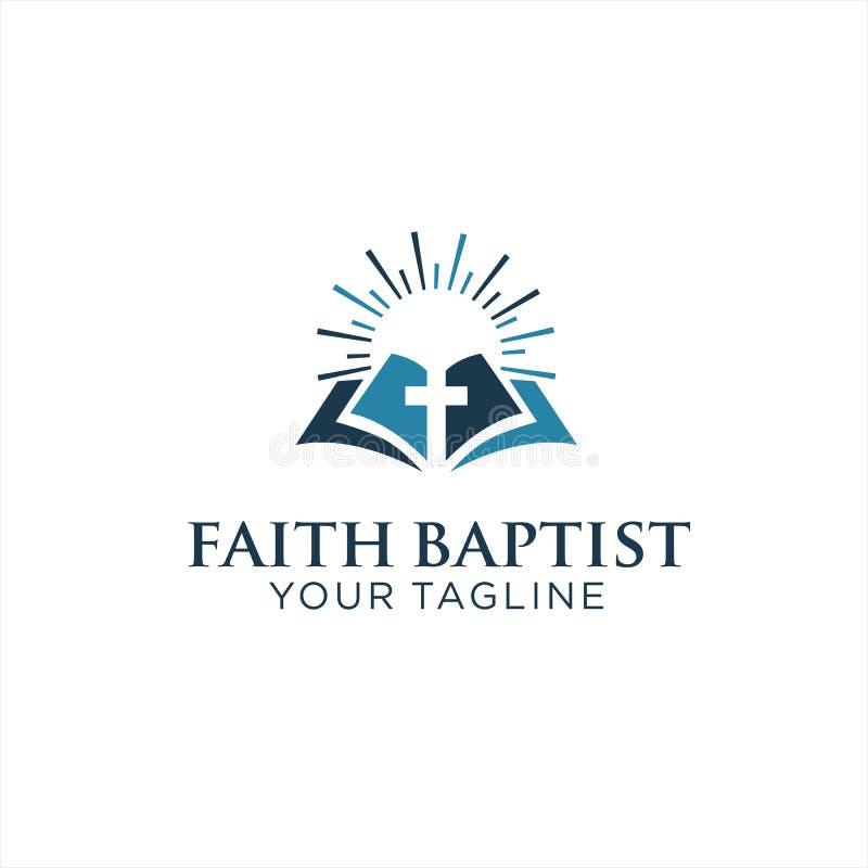Pomysł inspirowania do projektowania logo Kościoła ilustracji